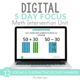 Adding and Subtracting Decade Numbers | Digital Distance L