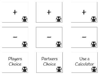 Adding and Subtracting Decimal Draw