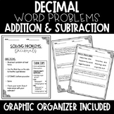 Adding and Subtracting Decimal Word Problems (Estimation I