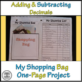 Adding and Subtracting Decimals Activity