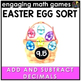 Easter Math Game - Adding and Subtracting Decimals