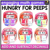 Easter Adding and Subtracting Decimals Game