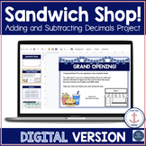 Adding and Subtracting Decimals DIGITAL Project  Distance