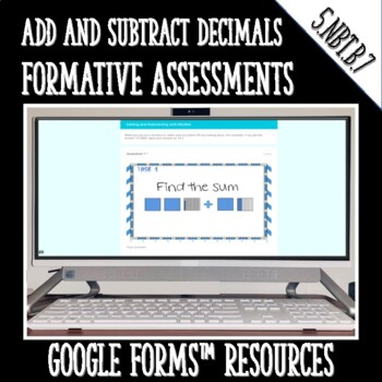 Adding and Subtracting Decimals DIGITAL TASK CARDS Google
