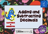 Adding and Subtracting Decimals Digital Boom Cards Eureka Math Grade 5 module 1