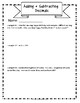 FREEBIE Adding and Subtracting Decimals: 8-Page Lesson Packet + Quiz