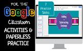 Adding and Subtracting Decimals Interactive Activities Google Classroom