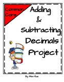 Adding and Subtracting Decimals Math in Focus aligned Project