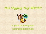 Adding and Subtracting Decimals PowerPoint review game