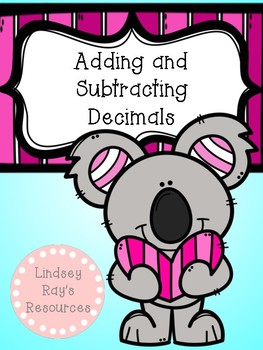 Adding and Subtracting Decimals Review