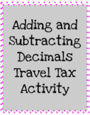 Adding and Subtracting Decimals Stations