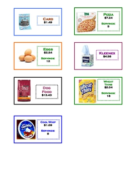 Adding and Subtracting Decimals  *Take a Shopping Trip!*