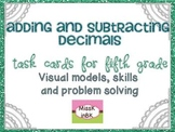 Adding and Subtracting Decimals to the Hundredths Place {F