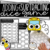 Adding and Subtracting Dice Game