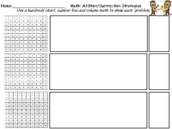 Adding and Subtracting  Encouraging Multiple Approaches