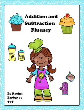 Adding and Subtracting Fluency Game