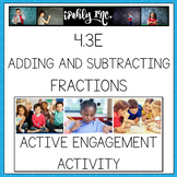 Adding and Subtracting Fraction Like Denominators