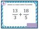 Adding and Subtracting Fractions Bingo