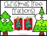 Adding and Subtracting Fractions Christmas Craftivity