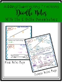 Adding and Subtracting Fractions Doodle Notes