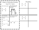 Adding and Subtracting Fractions Journal Entry with Practice