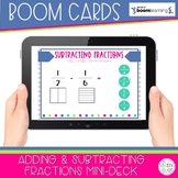 Adding and Subtracting Fractions | Free Boom Cards for Dis
