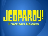 Adding and Subtracting Fractions - Jeopardy Game