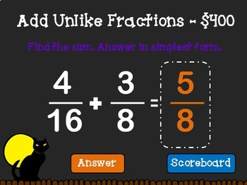Adding and Subtracting Fractions with Unlike …