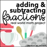 Adding and Subtracting Fractions Project