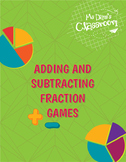 Adding and Subtracting Fractions Puzzles!