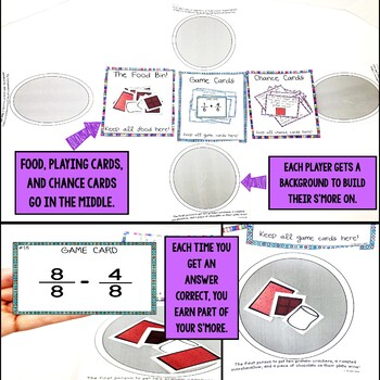 Adding and Subtracting Fractions (Same Denominators) Game