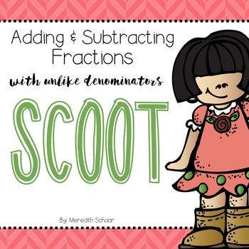 Adding and Subtracting Fractions Scoot