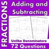 Adding and Subtracting Fractions Remediation Unlike Denominators