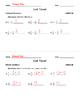 Adding and Subtracting Fractions for Fourth Grade: Exit Ti