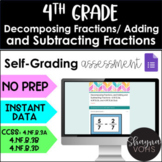 Adding and Subtracting Fractions for Google Forms