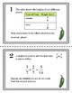 Add and Subtract Fractions with Like Denominator Differentiated Task Cards