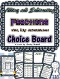 Adding and Subtracting Fractions with Like Denominators Ch