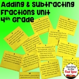 Adding and Subtracting Fractions with Like Denominators Un