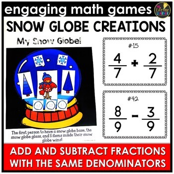 Adding and Subtracting Fractions (Same Denominator)