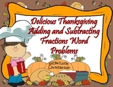 Adding and Subtracting Fractions with Thanksgiving Recipes