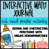 Adding and Subtracting Fractions with Unlike Denominators - Interactive Lesson!