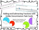 Adding and Subtracting Fractions with Unlike Denominators