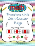 Adding and Subtracting Fractions with Vocabulary Worksheets