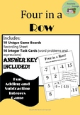 Adding and Subtracting Fun Integer Game