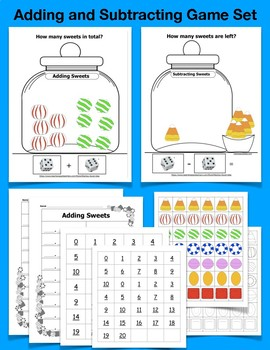 Adding and Subtracting Game Set