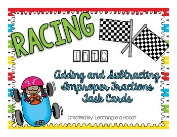 Adding and Subtracting Improper Fractions