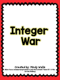 Adding and Subtracting Integer War
