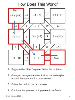 Lesson 14: Adding And Subtracting Integers - Lessons - Tes Teach