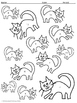 Adding and Subtracting Integers: A Cat-astrophe Color by Number
