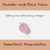 Adding and Subtracting Integers Lesson Presentation